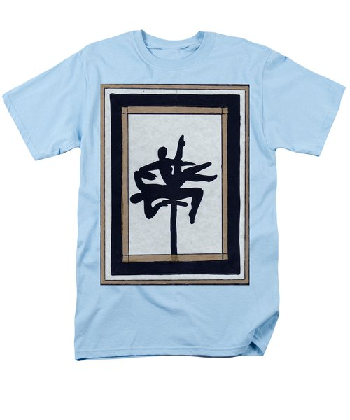 Men's T-Shirt  (Regular Fit) featuring the mixed media In Perfect Balance by Barbara St Jean