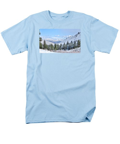 In The Canyon Men's T-Shirt  (Regular Fit) by Marilyn Diaz