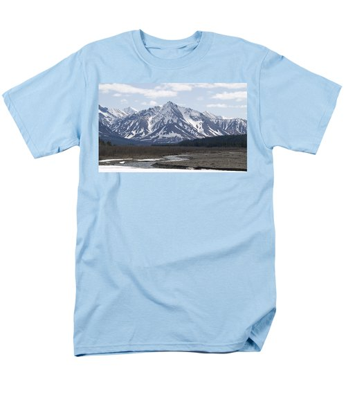 Inside Denali National Park 4 Men's T-Shirt  (Regular Fit) by Tara Lynn