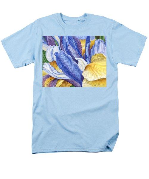 Iris Men's T-Shirt  (Regular Fit)