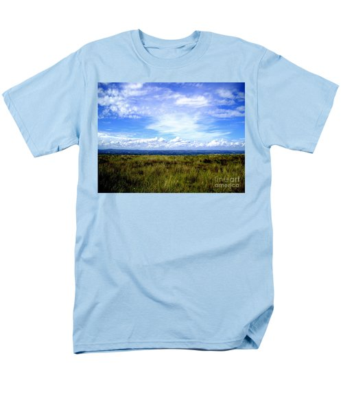 Men's T-Shirt  (Regular Fit) featuring the photograph Irish Sky by Nina Ficur Feenan