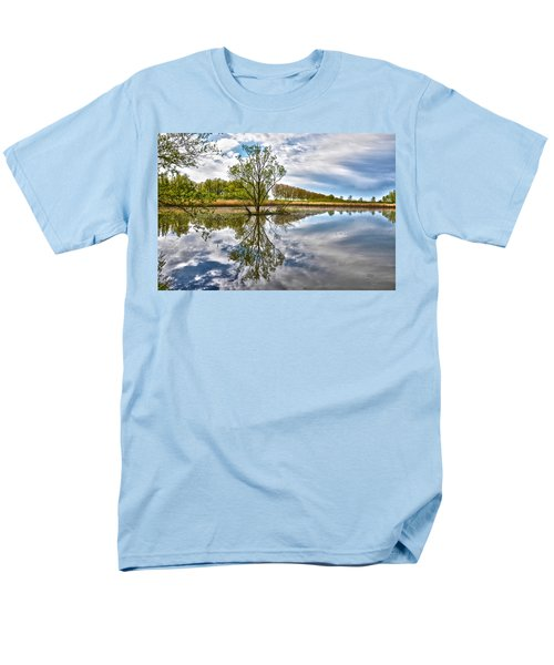 Island Tree Men's T-Shirt  (Regular Fit) by Frans Blok