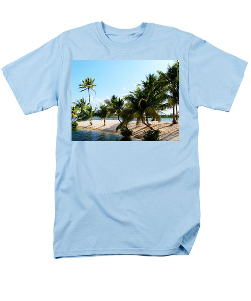 Men's T-Shirt  (Regular Fit) featuring the photograph Isle @ Camana Bay by Amar Sheow
