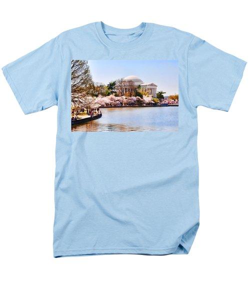 Jefferson Memorial Washington Dc Men's T-Shirt  (Regular Fit) by Vizual Studio