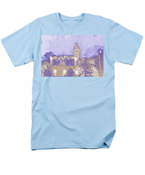 Men's T-Shirt  (Regular Fit) featuring the photograph All Saints Day In Lacombe Louisiana by Luana K Perez