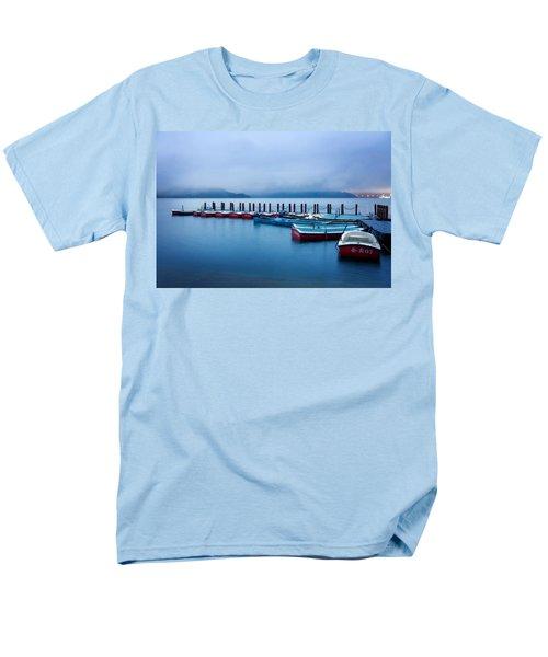 Jetty At Sun Moon Lake Men's T-Shirt  (Regular Fit) by Yew Kwang
