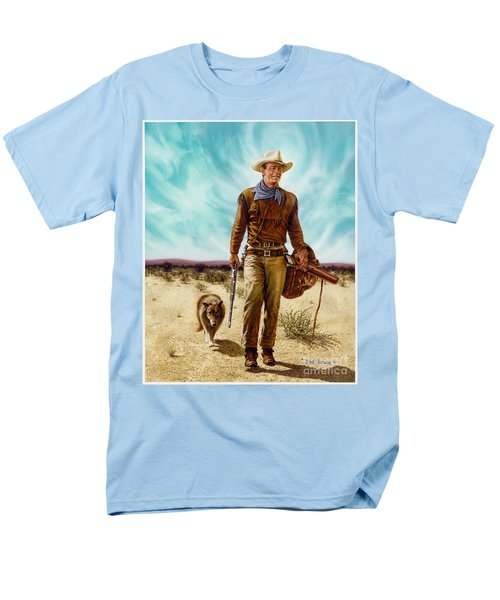 John Wayne Hondo Men's T-Shirt  (Regular Fit)