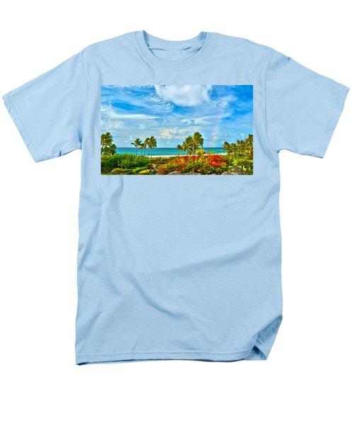 Kauai Bliss Men's T-Shirt  (Regular Fit) by Marie Hicks
