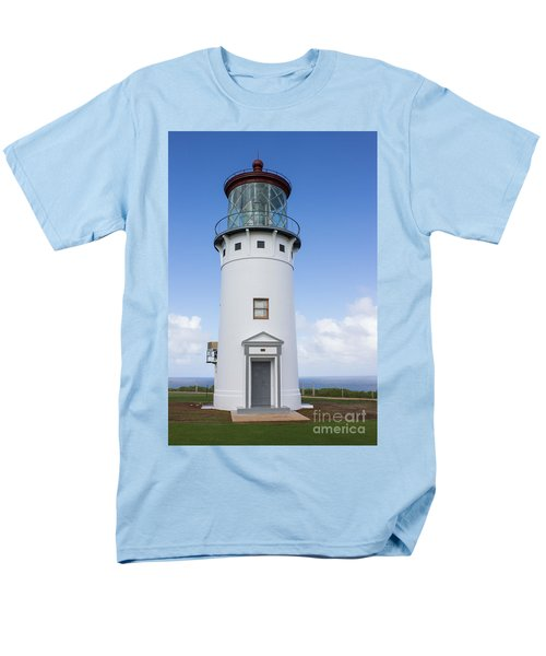 Kilauea Lighthouse Men's T-Shirt  (Regular Fit) by Suzanne Luft
