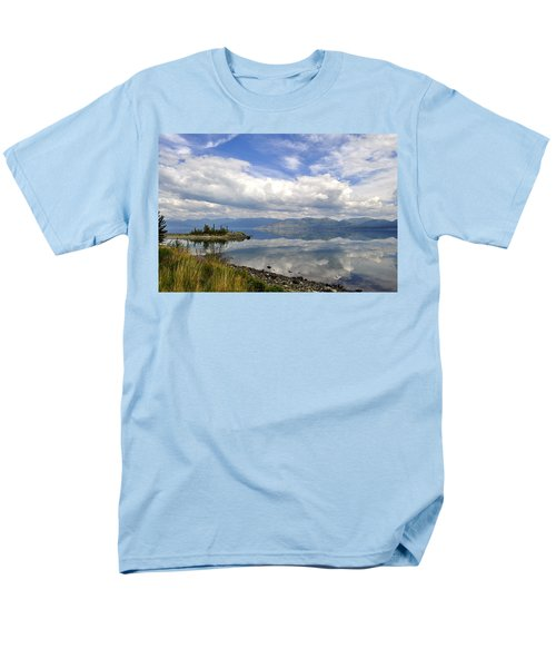 Men's T-Shirt  (Regular Fit) featuring the photograph Kluane Reflections by Cathy Mahnke