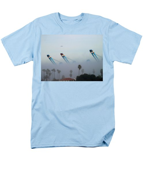 La Harbor Never Sleeps Men's T-Shirt  (Regular Fit) by Joe Schofield