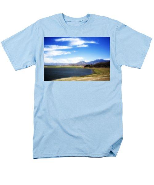 Lake Isabella Men's T-Shirt  (Regular Fit) by Hugh Smith
