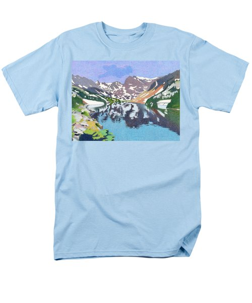 Lake Isabelle Colorado Men's T-Shirt  (Regular Fit) by Dan Miller