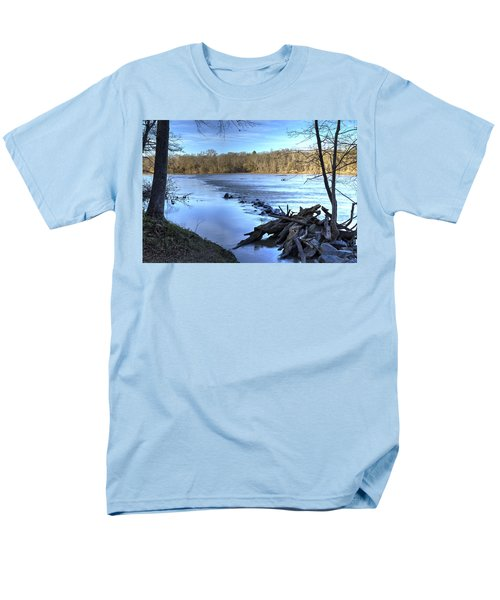 Landsford Canal-1 Men's T-Shirt  (Regular Fit) by Charles Hite