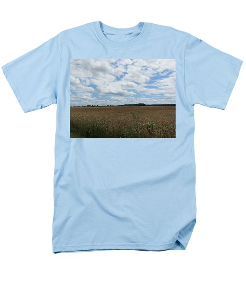 Men's T-Shirt  (Regular Fit) featuring the photograph Last Of The Poppies by Pema Hou