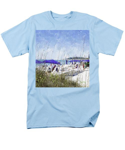 Late Winter Early Spring When Everybody Goes To Florida Men's T-Shirt  (Regular Fit) by Susan Molnar