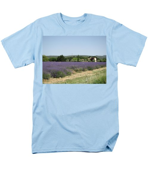 Lavender Farm Men's T-Shirt  (Regular Fit) by Pema Hou