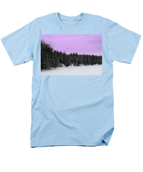 Men's T-Shirt  (Regular Fit) featuring the photograph Lavender Skies by Bianca Nadeau