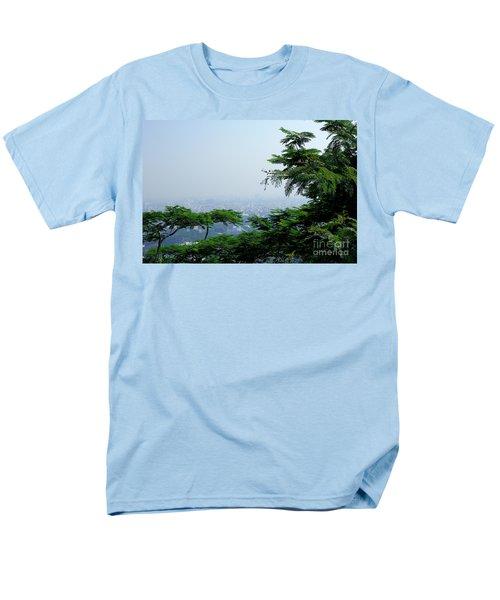Layers Of Tree Men's T-Shirt  (Regular Fit) by Kiran Joshi