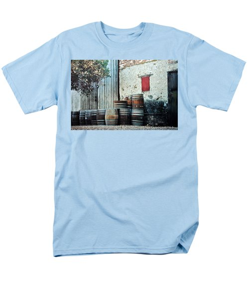 Men's T-Shirt  (Regular Fit) featuring the photograph Lazy Afternoon At The Winery by Diane Alexander