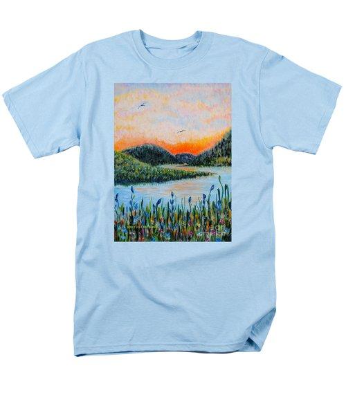 Lazy River Men's T-Shirt  (Regular Fit)