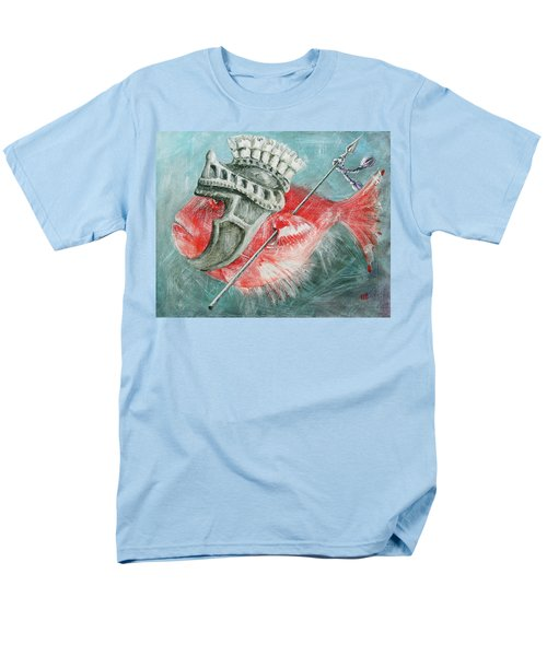 Legionnaire Fish Men's T-Shirt  (Regular Fit) by Marina Gnetetsky