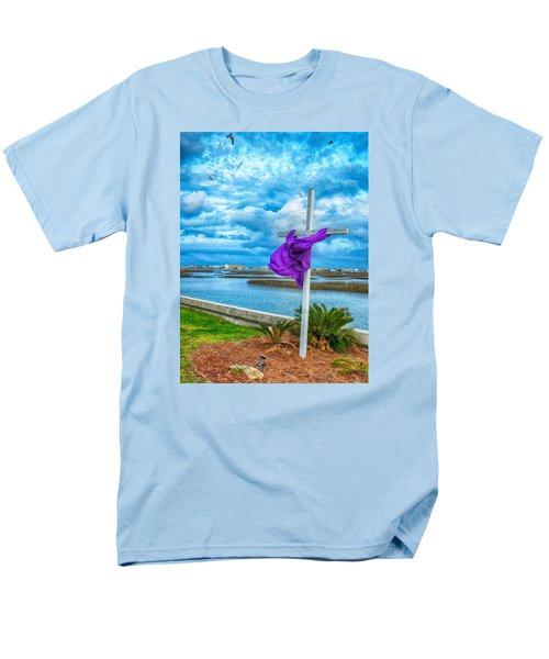 Men's T-Shirt  (Regular Fit) featuring the photograph Lentin Cross by Bill Barber