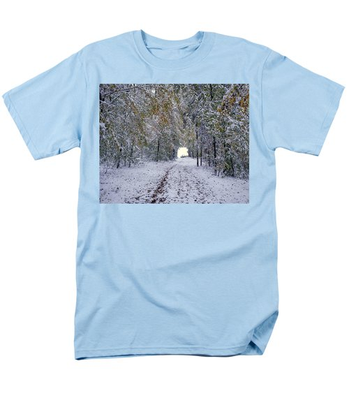 Men's T-Shirt  (Regular Fit) featuring the photograph Let It Snow by Felicia Tica