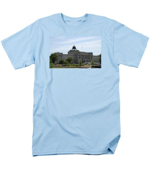 Library Of Congress  Men's T-Shirt  (Regular Fit) by Christiane Schulze Art And Photography