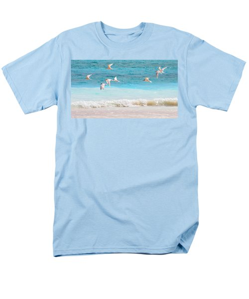 Like Birds In The Air Men's T-Shirt  (Regular Fit) by Jenny Rainbow