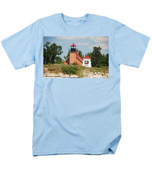 Men's T-Shirt  (Regular Fit) featuring the photograph Little Traverse Lighthouse No.2 by Janice Adomeit