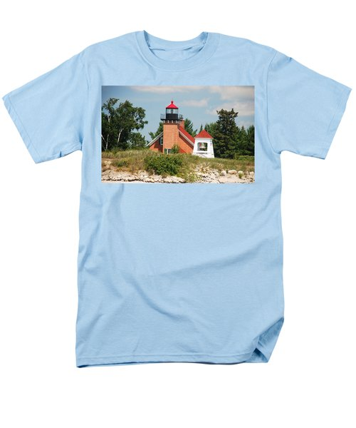 Little Traverse Lighthouse No.2 Men's T-Shirt  (Regular Fit)