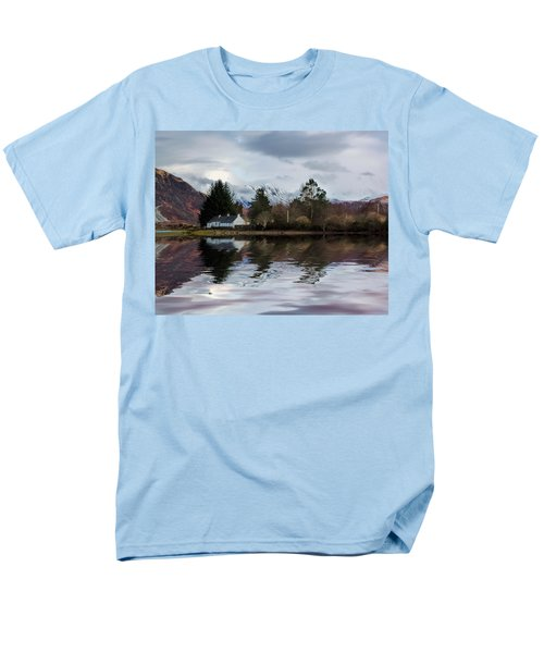 Loch Etive Reflections Men's T-Shirt  (Regular Fit)