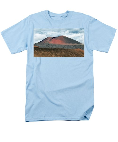 Men's T-Shirt  (Regular Fit) featuring the photograph Looking Down by Jim Thompson
