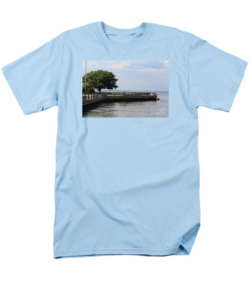 Lookout Point Men's T-Shirt  (Regular Fit) by David Jackson