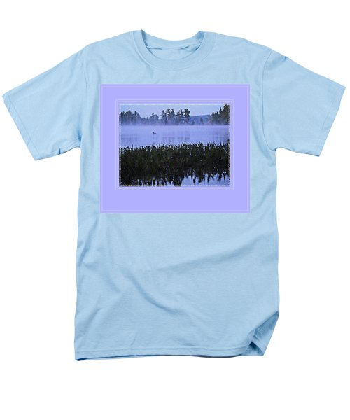 Loon On A Misty Morning At Parker Men's T-Shirt  (Regular Fit) by Joy Nichols