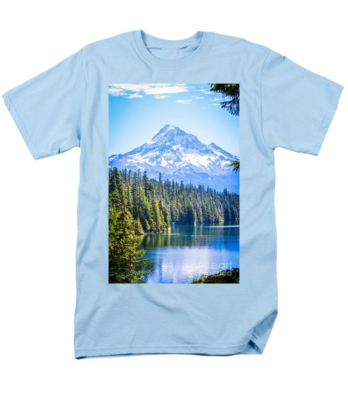 Lost Lake Morning Men's T-Shirt  (Regular Fit) by Patricia Babbitt