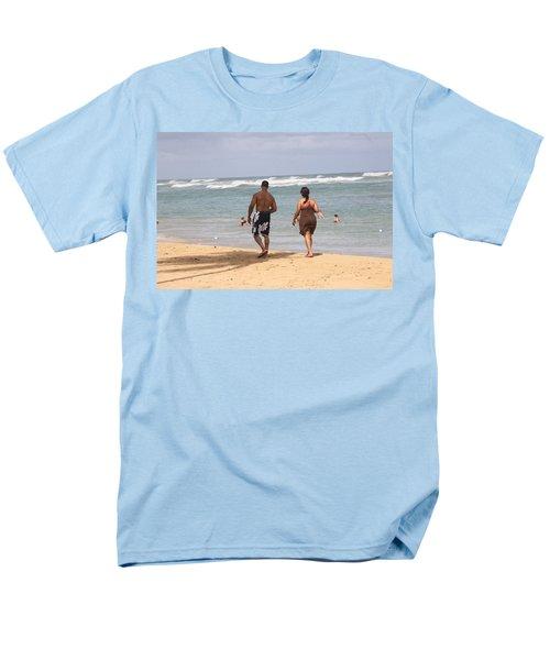 Love Stroll Men's T-Shirt  (Regular Fit) by Mustafa Abdullah