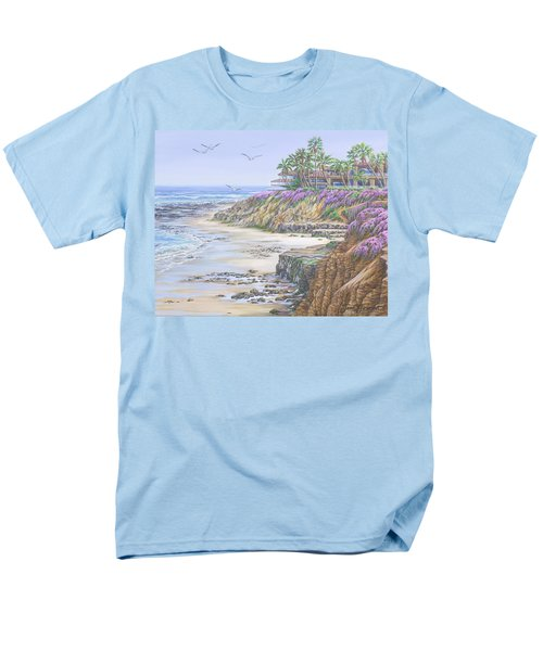 Low Tide Solana Beach Men's T-Shirt  (Regular Fit)