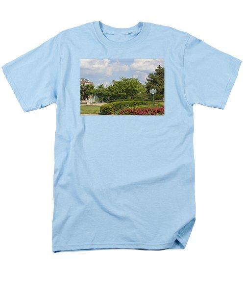 Lytle Park Cincinnati Men's T-Shirt  (Regular Fit) by Kathy Barney
