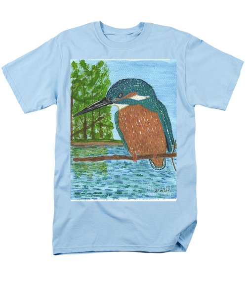 Men's T-Shirt  (Regular Fit) featuring the painting Magic Moments by John Williams