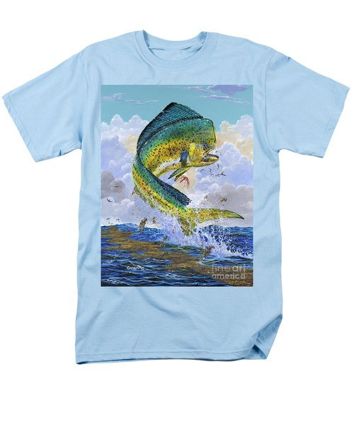 Mahi Hookup Off0020 Men's T-Shirt  (Regular Fit) by Carey Chen