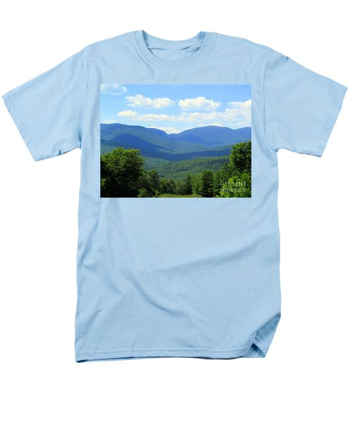 Majestic Mountains Men's T-Shirt  (Regular Fit) by Elizabeth Dow