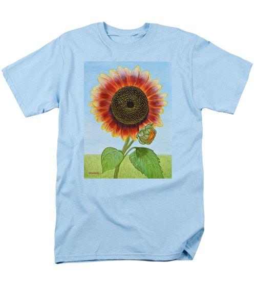 Mandy's Magnificent Sunflower Men's T-Shirt  (Regular Fit) by Donna  Manaraze