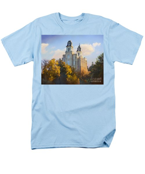 Manti Temple Men's T-Shirt  (Regular Fit) by Rob Corsetti