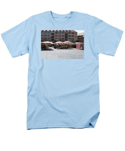 Markt Platz Men's T-Shirt  (Regular Fit) by Heidi Poulin