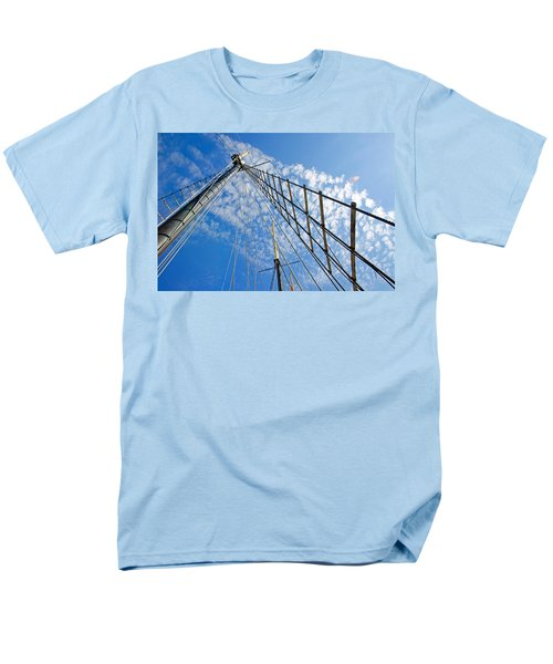 Men's T-Shirt  (Regular Fit) featuring the photograph Masted Sky by Keith Armstrong