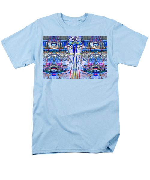 Men's T-Shirt  (Regular Fit) featuring the photograph Matrix Blues by Marianne Dow