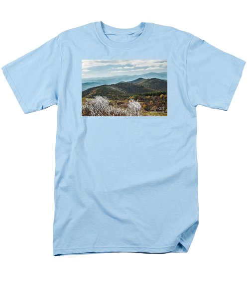 Men's T-Shirt  (Regular Fit) featuring the photograph Max Patch In Appalachian Mountains by Debbie Green