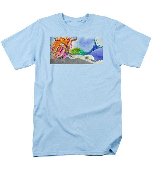 Mermaids On My Mind Men's T-Shirt  (Regular Fit) by Anne Marie Brown